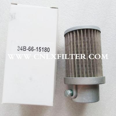 34b-66-15180 Forklift Filters Hydraulic Filter element